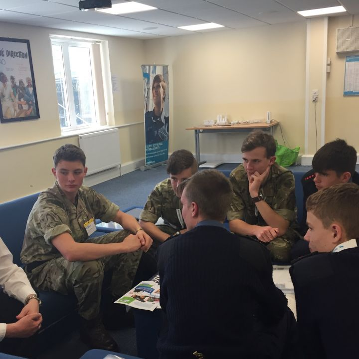YOUNG PEOPLE GATHER AT CADET CONFERENCE