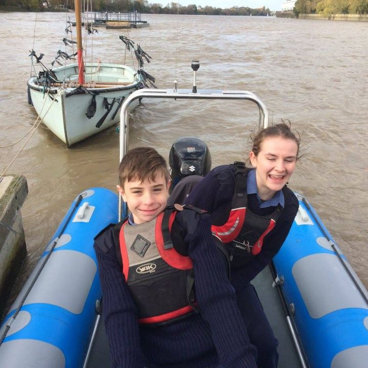 A new powerboat for our cadets