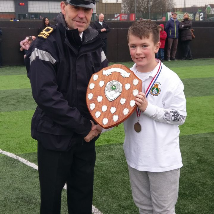 Ruislip Cadet is Under 12 player of the tournament