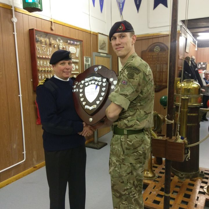 Cadet Sgt Greg is District Cadet of the Year