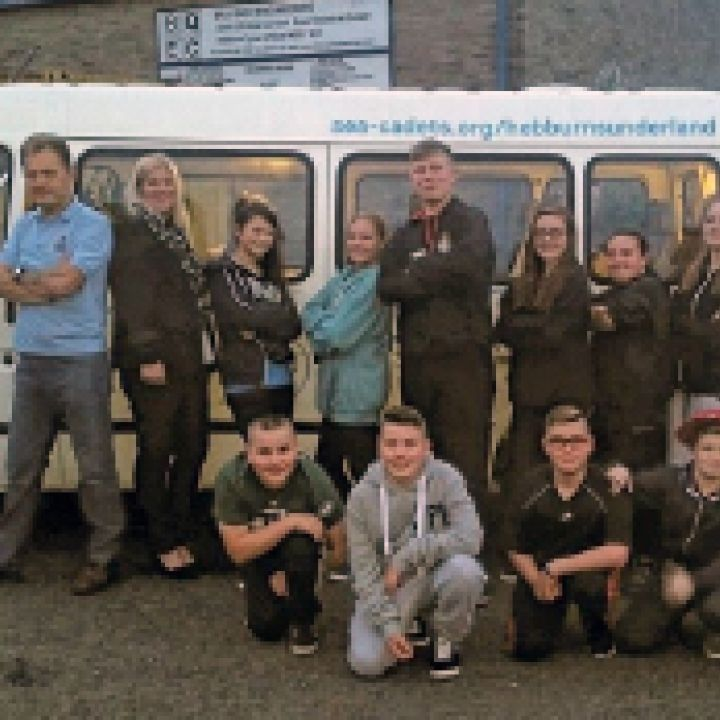 New Minibus for Poole Sea Cadets!